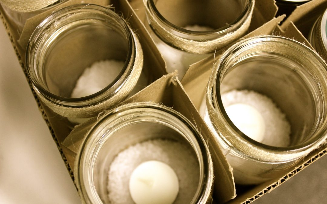Burn Safely with Jar Candles