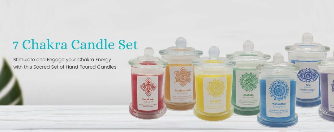 Chakra Candles for Health and Wellness